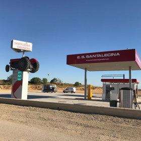 Estación de servicio Santalecina Ganadera